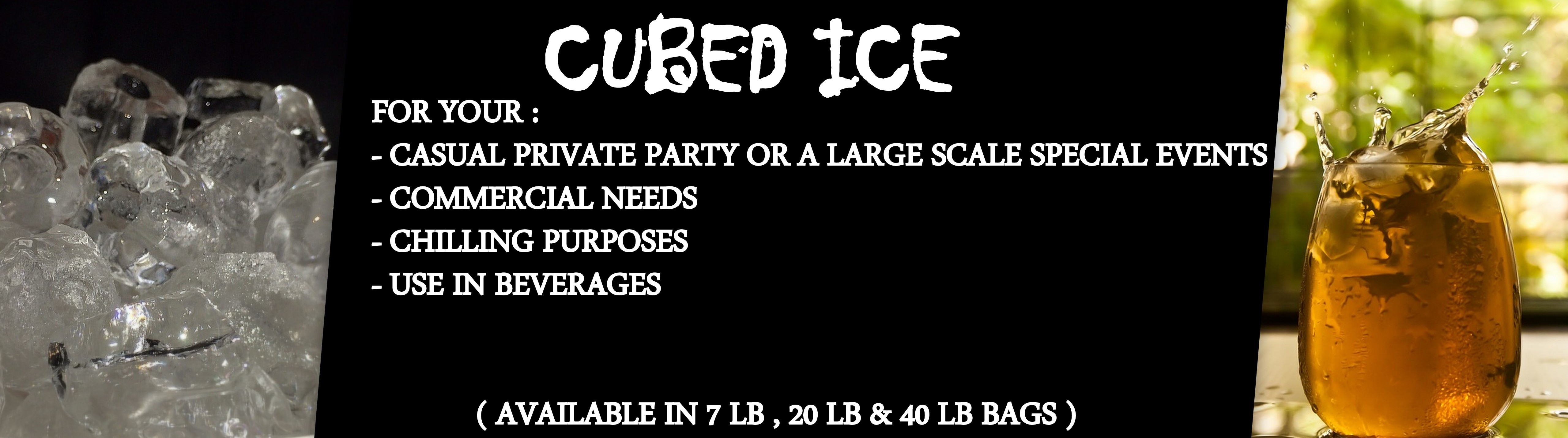 1 CUBED ICE